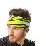 カムフラージュ様式の紫外線バンダナ、柔らかく衰えないHeadwearの継ぎ目が無い管のスカーフ(YH-HS163)