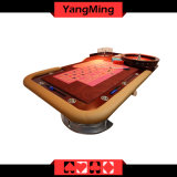 O casino 2017 dedicou a tabela que luxuosa do póquer da roleta a manufatura profissional da tabela da roleta pode ser feita sob encomenda para o jogador (YM-RT05)