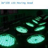 108PCS LED 이동하는 맨 위 세척 빛 3W RGBW