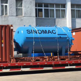 автоклав защитного стекла нагрева электрическим током 2000X3000mm противопульный (SN-BGF2030)