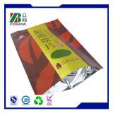 Di alluminio levar in piedi in su il sacchetto di plastica di imballaggio per alimenti con la chiusura lampo