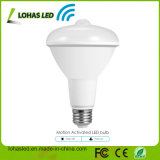 Venta caliente E27 9W 12W PIR Sensor de movimiento infrarrojos Lámpara de luz LED