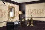 Brown e mattonelle lustrate beige per la parete ed il pavimento