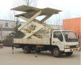 Fait dans la plate-forme véhiculaire de travail aérien de fourche de cisaillement de la Chine