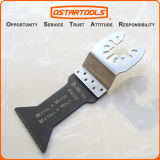 Hoja de sierra estándar oscilante bimetálica del azul del diente de Multitool
