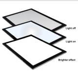 Ultra delgado el rastreo de caja de luz con interruptor regulable