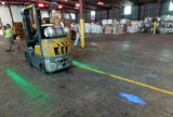 9-80V 파란 화살 패턴 LED 물자 취급 트럭 경고등