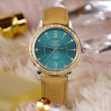 Z361 여자 손목시계 유리 다이아몬드 호화스러운 디자인 형식 숙녀 시계