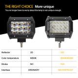 도매 최고 밝은 12V 24 4.8 인치 48W 트럭을%s 정연한 자동 소형 크리 사람 LED 일 모는 표시등 막대