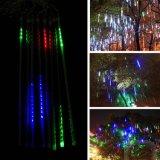 태양 옥외 끈 빛, LED 유성 관 정원을%s 방수 요전같은 끈 빛, 안뜰, 야드, 크리스마스 나무 및 다른 야외 활동