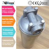 Boîtier de crépine personnalisé de PVC en matériau d'acier inoxydable