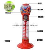 螺線形のGumballの自動販売機甘い機械弾力がある球の自動販売機