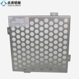 Feuille perforée en aluminium personnalisée par ventes d'usine de la Chine