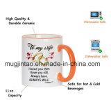 Xícara de café em cerâmica Sumblimition Camping Piscina caneca