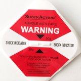 Étiquette d'impact- étiquette choc 100g Impact autocollant vert