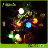 [إ27] [1.5و] [لد] كرة أرضيّة صفراء [ليغت بولب] بالغ الصّغر [غ14] بصيلة لأنّ عيد ميلاد المسيح زخرفة