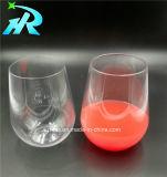 15oz Mok van de Reis van de Glazen van de Wijn van het huisdier de Beschikbare Stemless