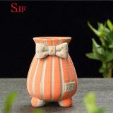 Flowerpot. peint à la main créateur simple en céramique