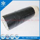 Conducto flexible de aluminio del aislante de la fibra de vidrio (película del PVC de Alu duct+Black)