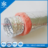Como conducto flexible aislado estándar utilizado para sistemas de aire acondicionado