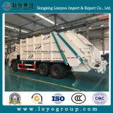 De Vrachtwagen van het Afval van de Vuilnisauto van de Pers van het Merk van Sinotruk 6X4