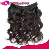 Объемная волна естественных волос цвета бразильская связывает человеческие волосы
