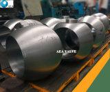 Bola sólida de acero que trabaja a máquina del CNC