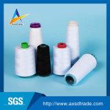 염색된 폴리에스테 꿰매는 스레드 40/2 30/2 (중국에서 염색된 털실, 플라스틱 관, 공장)