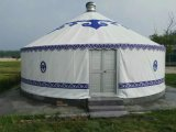 Barraca Mongolian de Yurt da barraca ao ar livre luxuosa de Yurt do partido