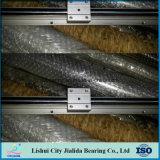 Направляющий выступ CNC алюминия изготовления подшипника линейный (SBR16)