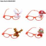 Los niños la Navidad relucientes gafas de fiesta