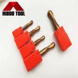 Торцевая фреза носа шарика высокого качества HRC60 Copper-Colored