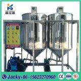 中国製食用油の精製所の機械装置
