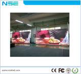P4mm interno que anuncia o indicador de diodo emissor de luz Rental do indicador para o indicador video