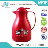 Поддержка пользовательских термос Сделано в Китае двойные стенки стеклянной Teapot (JGUX)
