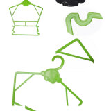 Costume écologique en plastique bébé nouveau né cintres