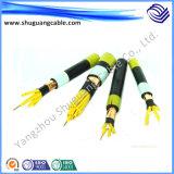 Оболочка Yjv22/XLPE Insulation/PVC/средств напряжение тока/силовой кабель