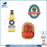Impresa personalizada Botella de Cerveza pegatinas etiquetas