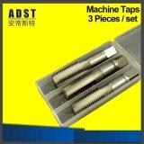 Hochwertige schwarze und silberne Höhenflossenstation-gewundene Flöte-Maschinen-Hähne