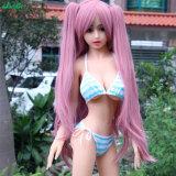 Japanische Anime-Großhandelsabbildung kleines Mädchen TPE-Minigeschlechts-Puppe