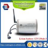constructeur solaire de batterie Li-ion de réverbère de 12V 130ah
