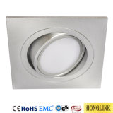 5W IP44 GU10 Downlight ribaltabile di alluminio