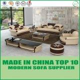 Os luxos dirigem o jogo de couro genuíno do sofá de Chesterfield do sofá da mobília