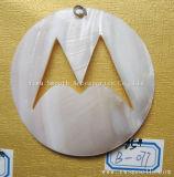Collana Pendant del tasto delle coperture bianche degli accessori dei monili di modo DIY