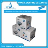 PAR de PC branco quente56 Luz de iluminação subaquática LED