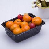 Прозрачный ПВХ PP пластиковые упаковки из ПЭТ ящиков фруктов контейнеры для пищевых продуктов в блистерной упаковке складного корпуса