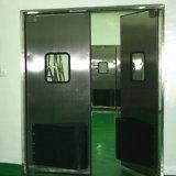 Doppelte Blatt-Schwingen-Tür-Auswirkung-Verkehrs-Tür-Edelstahl-Tür