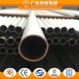 El aluminio/el aluminio/Aluminio sacaron alrededor de perfil del tubo/del tubo con diversa especificación