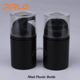 50ml黒いカラー装飾的なPcakingの瓶空の急な上ポンプスプレーのプラスチックローションのシャンプーのびん