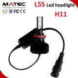 Linterna auto H1 H3 H7 H11 H4 880 del coche del LED 881 9006 9005 linterna de la linterna G20 L5 Fanless LED del LED